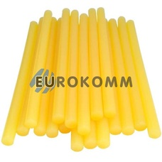 Термоклей диаметр 11мм, длина 200мм, желто-матовый, 1кг