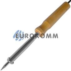 Паяльник с деревянной ручкой WD-60W, 220V