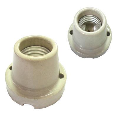 Патрон керамический настенный HL601-1  E27