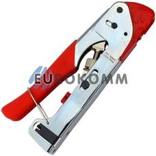 Инструмент опрессовочный для компрессионных разъемов F; BNC; RCA (HT-H518G)