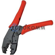 Клещи для обжима разъемов на коаксиальный кабель  RG-58; RG-59; RG-6 (HT-336C)