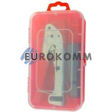 Набор HT-K5501 (клещи HT-H518G+ зачистка HT-332) в пластиковой коробке