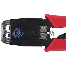 Инструмент НY-500R для обжима 6р4с, 8p8c, с трещеткой