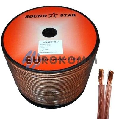 Акустический кабель 2x4.0мм² CU Sound Star 100м