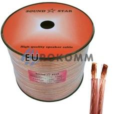 Акустический кабель 2x2.0мм² CU Sound Star 100м