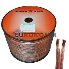 Акустический кабель 2x1.5мм² CU Sound Star 100м