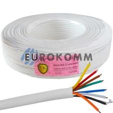 Сигнальный кабель 8х0.22 CU без экрана 100м