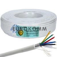 Сигнальный кабель 6х0.22 CCA в экране 100м
