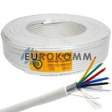Сигнальный кабель 6х0.22 CU в экране 100м