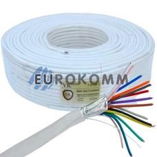 Сигнальный кабель 14х0.22 CCA в экране 100м