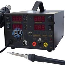 Паяльная станция цифровая с феном HandsKit 909D, 800W, 100-450°C