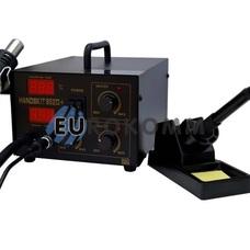 Паяльная станция цифровая с феном HandsKit 852D, 1600W, 200-480°C