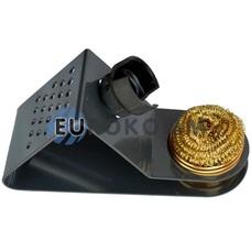 Подставка для паяльника с метал.губкой  ZD-10W