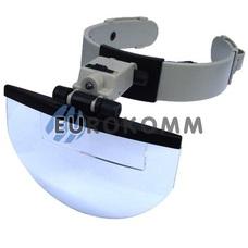 Лупа бинокулярная налобная с подсветкой 2X – 5.5X кр. увеличение