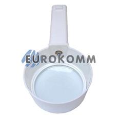 Лупа ручная круглая с подсветкой 3X кр. увеличение