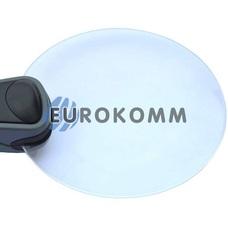 Лупа ручная круглая с LED подсветкой 2.5X -диам. 90мм