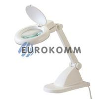 Лупа-лампа настольная с LED подсветкой, 3X; 8X кр. увеличение