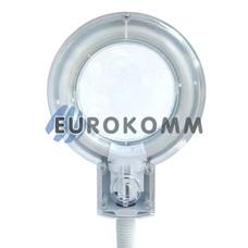 Лупа-лампа настольная с люминисцентной подсветкой (T4/12Вт), 3X; 8X кр. увеличение