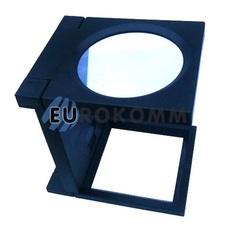 Лупа настольная складная с LED подсветкой, 3X кр. увеличение – диам.110мм
