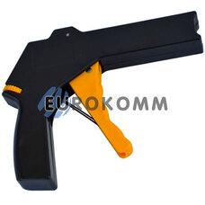Инструмент для затяжки и обрезки кабельных стяжек (длин. 50-350мм, шир. 2,4-4,8мм)