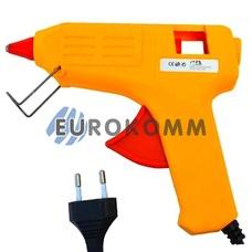 Пистолет клеевой ME-02 под клей 11мм, 80W, желтый