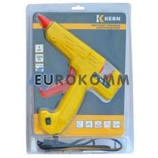 Пистолет клеевой с кнопкой HD-01 под клей 11мм, 180W, желтый