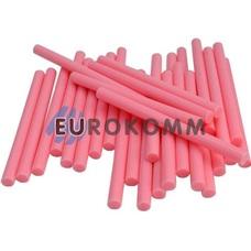 Термоклей диаметр 7мм, длина 100мм, розовый, 1кг