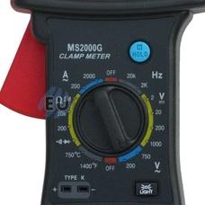 Клещи токоизмерительные Mastech MS2000G