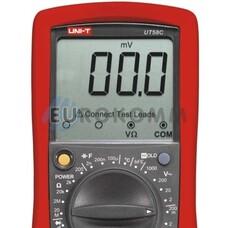 Цифровой мультиметр UNI-T UT58C + термопара