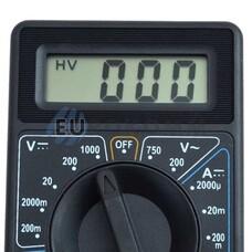 Цифровой мультиметр DT838