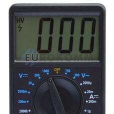 Цифровой мультиметр DT700C большой дисплей (со звуком+температура)