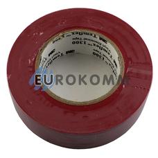 Изолента 3M TEMFLEX™ 1300 (0.13мм х19мм х20м, красная)