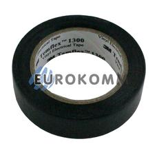 Изолента 3M TEMFLEX™ 1300 (0,13мм х15мм х10м, черная)