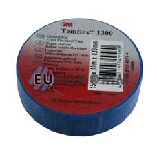 Изолента 3M TEMFLEX™ 1300 (0,13мм х15мм х10м, синяя)