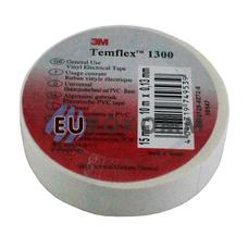 Изолента 3M TEMFLEX™ 1300 (0,13мм х15мм х10м, белая)