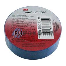 Изолента 3M TEMFLEX™ 1300 (0,13мм х19мм х20м, синяя)