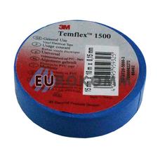 Изолента 3M TEMFLEX™ 1500 (0,15мм х15мм х10м, синяя)