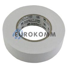 Изолента 3M TEMFLEX™ 1500 (0,15мм х19мм х20м, белая)