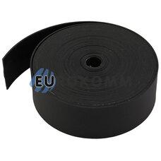Термоусадочная лента 0.8x25мм 5м черная