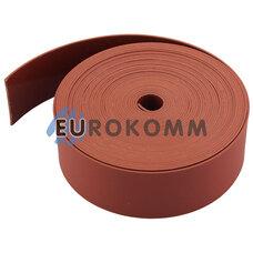 Термоусадочная лента 0.8x25мм 5м красная