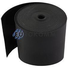 Термоусадочная лента 0.8x75мм 5м черная