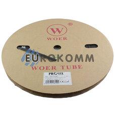Трубка термоусадочная W-1-H WOER 8.0/4.0 черная 100м