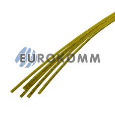Трубка термоусадочная 1.5/0.75 желтая