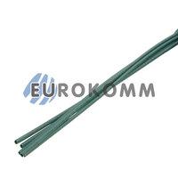 Трубка термоусадочная 1.0/0.5 зеленая