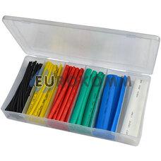 Набор трубок термоусадочных цветных (1.5; 2.5; 4.0; 6.0; 10.0; 13.0) 102 шт.