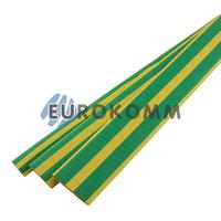 Трубка термоусадочная 12.0/4.0 желто-зеленая