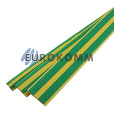 Трубка термоусадочная 24.0/8.0 желто-зеленая