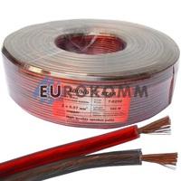 Акустический кабель 2x0.57мм² CU Sound Star 100м