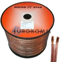 Акустический кабель 2x4.0мм² CCA Sound Star 100м