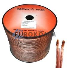 Акустический кабель 2x2.5мм² CCA Sound Star 100м